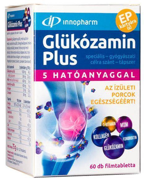Glükozamin kondroitinnal és C-vitaminnal 120 kapszula (G&G)