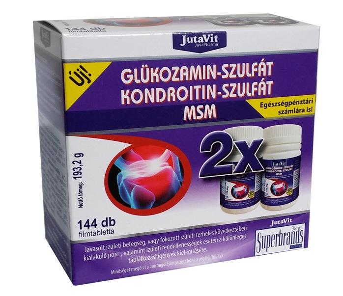 kondroitin és glükózamin hatása