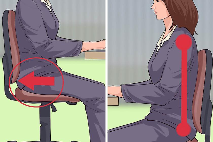 Egyszerű nyújtás feszes csípőre – Ha egész nap az asztal előtt ülsz | Femcafe