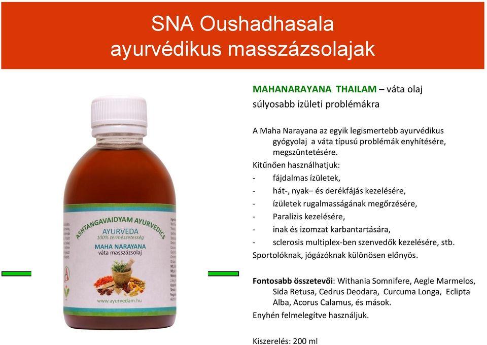 Ajurvédikus gyógynövények és hagyományos gyógyászat