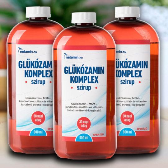 komplex kondroitin és glükozamin kis ujjízület sérülése