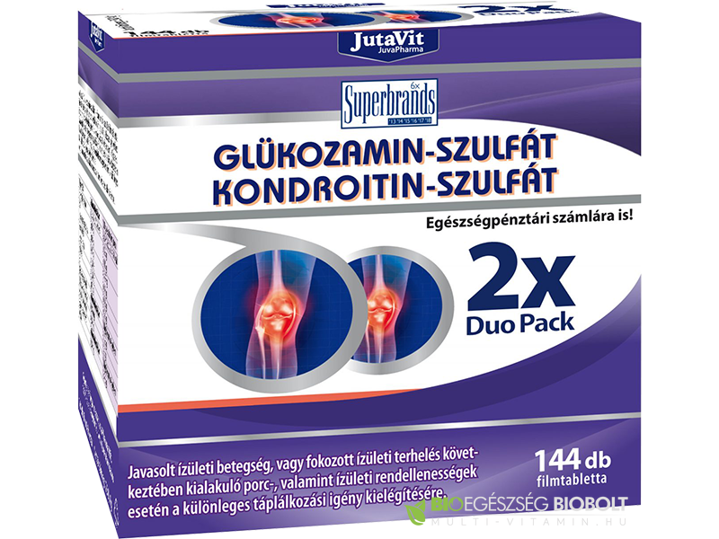 glükózamin és kondroitin készítmények áttekintése