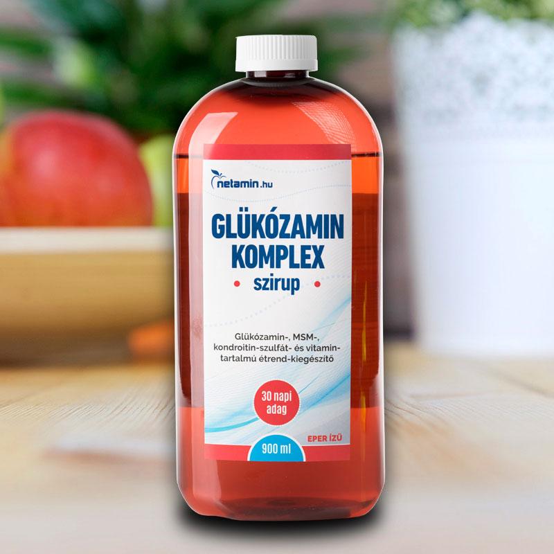 Glukozamin + Kondroitin + MSM + Csipkebogyó komplex