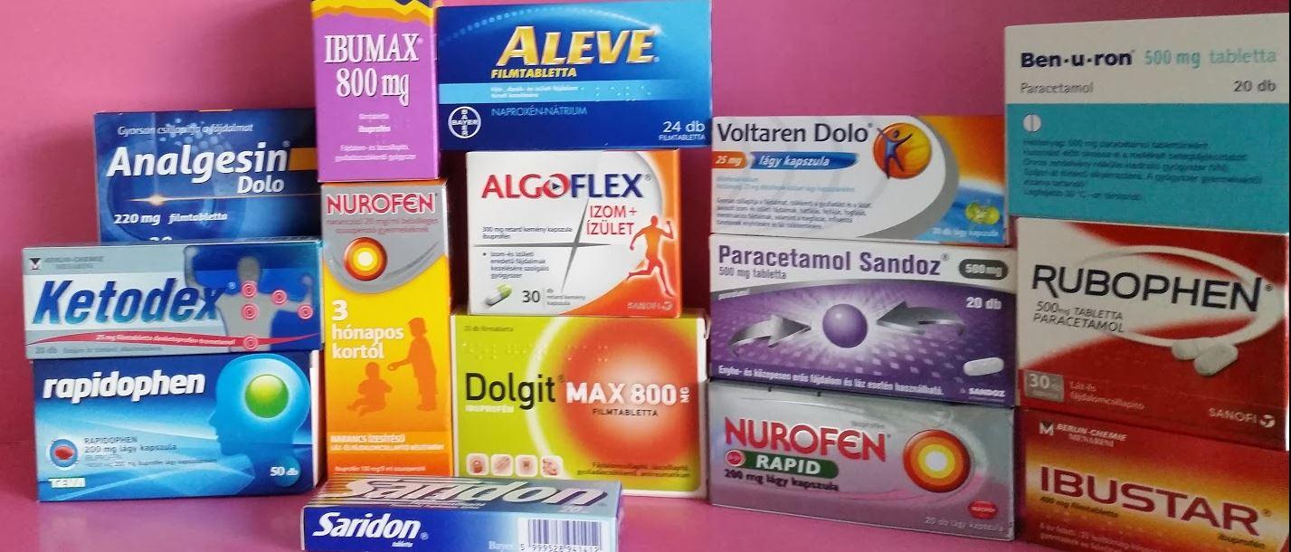 fájdalomcsillapító gyógyszer a csípőízületben