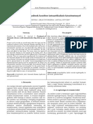 degeneratív artrózis kezelése a könyök szalagok szakadásának kezelése