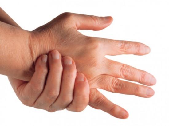 ujjak ízületeinek gyulladása