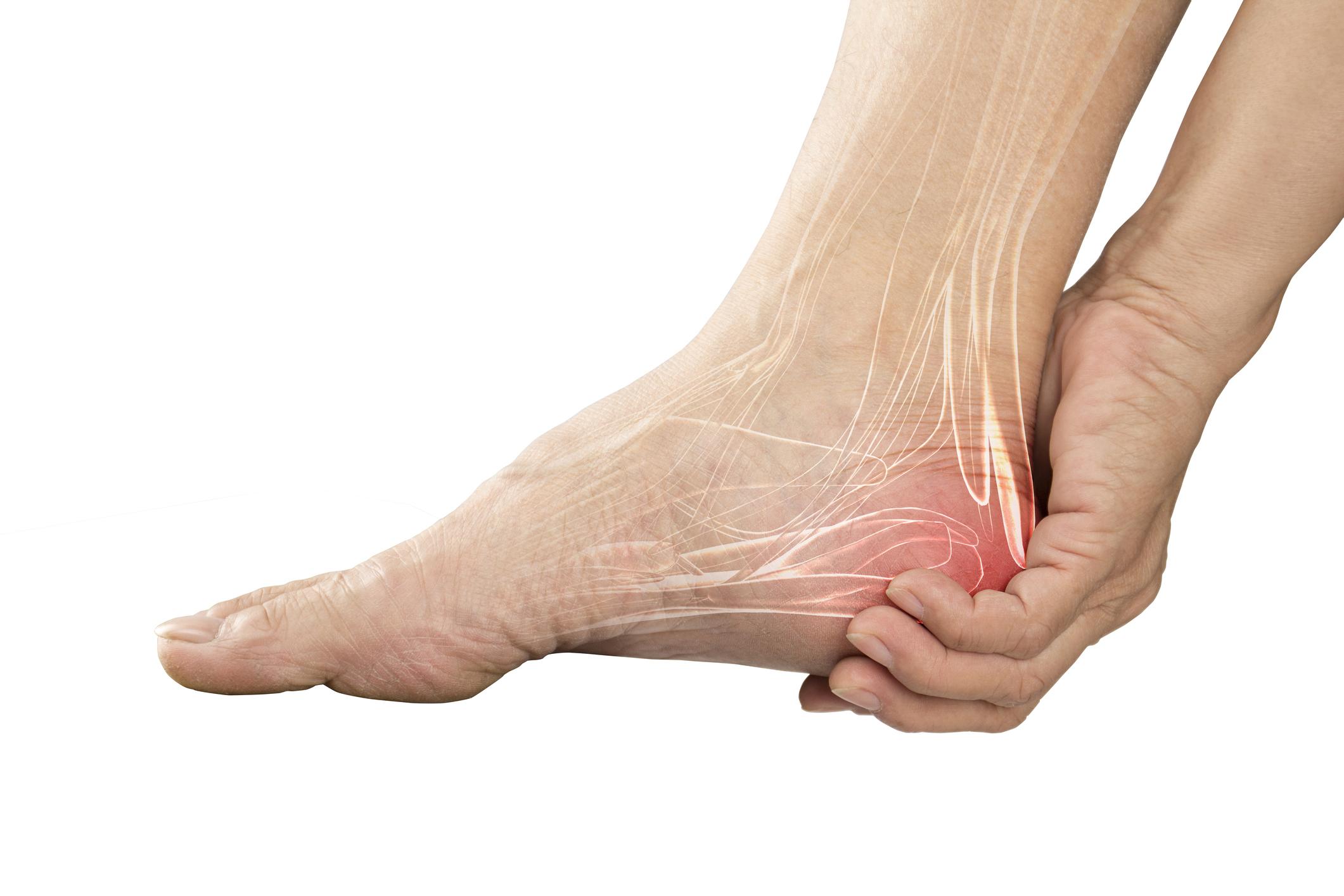 fájdalom és kattanások a bokaízületben csípőízületi szakadás kezelése
