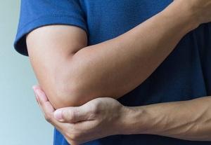 a könyök periosteuma károsodása