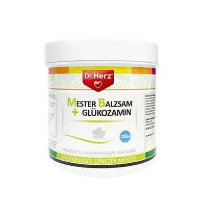 Dr. Herz Mesterbalzsam + Glükozamin krém – 250ml