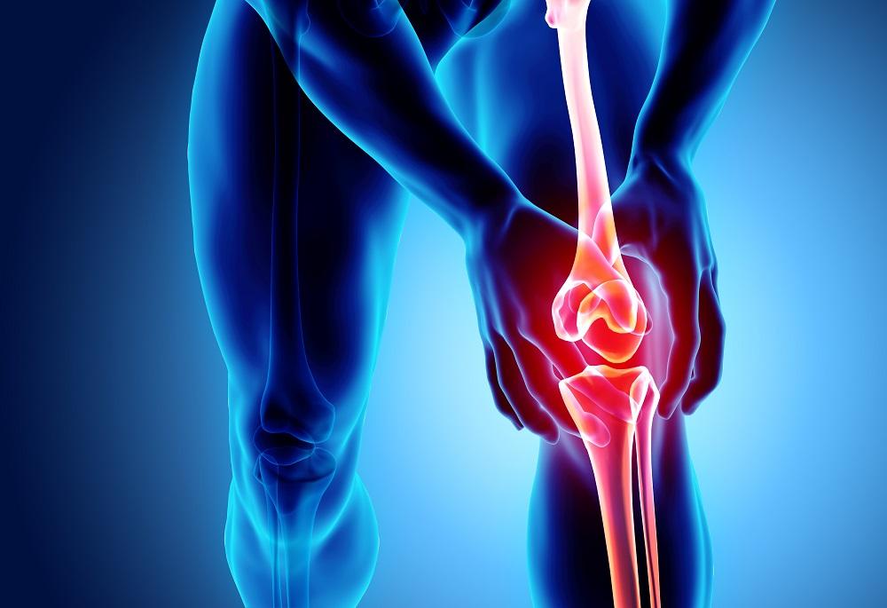 a jobb térdízület krónikus intraartikuláris károsodása)