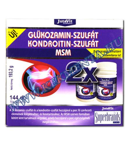 kondroitin és glükózamin hatás
