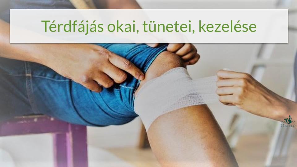 térdfájdalom sportolás után korai artrózis a térd